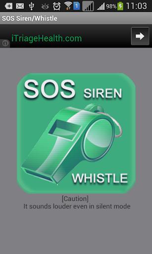 SOS Siren Whistle