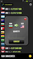 Screenshot of Talking Currency Converter