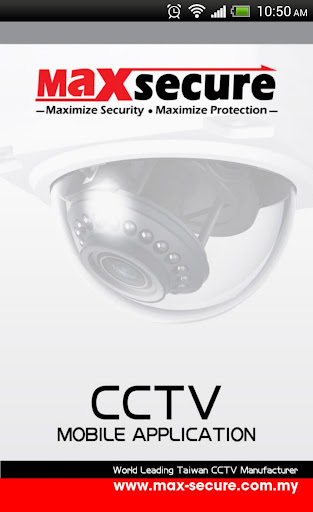 Maxsecure CCTV Mobile Viewer