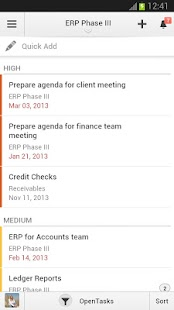 Zoho Projects - screenshot thumbnail