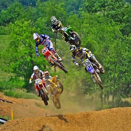 Big Air by Jeff Via Sr. - Sports & Fitness Motorsports ( motorcycles, motocross, motorbike, motorcycle, motorsport,  )