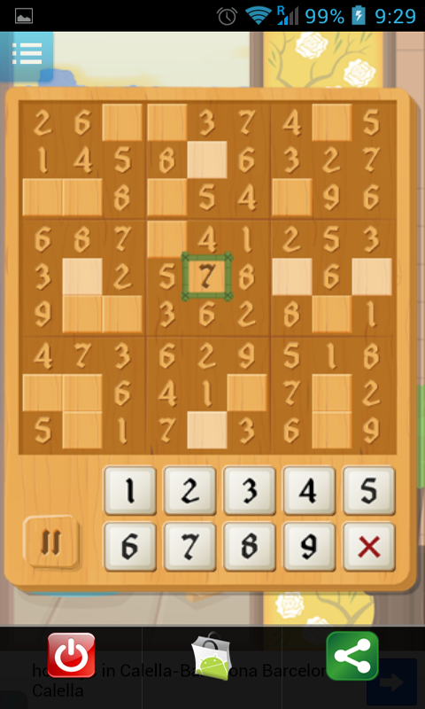 Samurai (Touch Sudoku) - screenshot