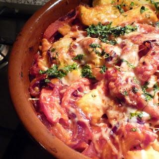 Polenta Squares with Salmon Recipe