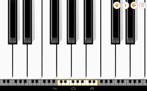 Mini Piano Pro- screenshot thumbnail