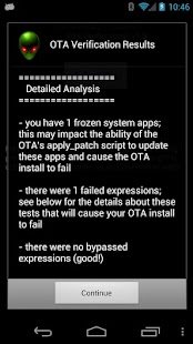 OTA Verifier - screenshot thumbnail