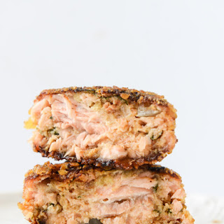 Tortilla Crusted Chipotle Salmon Sliders