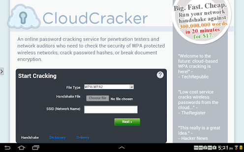 Cloud Cracker