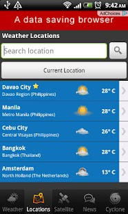 PH Weather- screenshot thumbnail