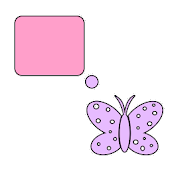 Bubble Butterflies For Go SMS