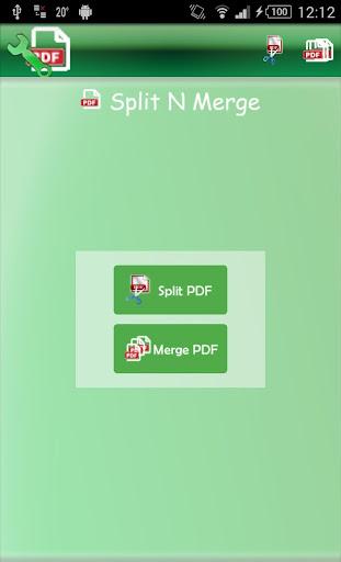 PDF - Split N Merge