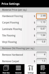 Flooring Calculator PRO Android Apps on Google Play
