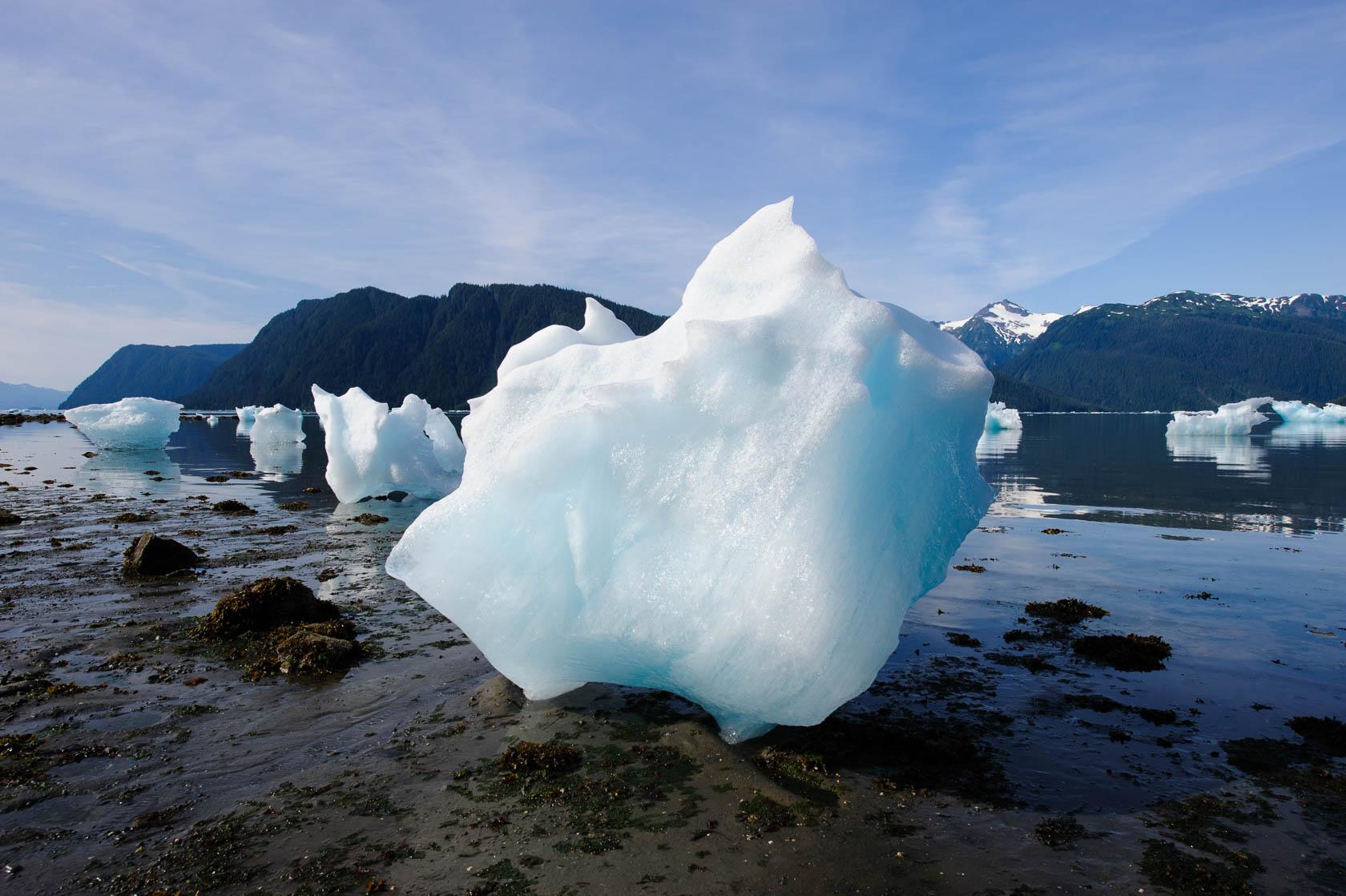 Stranded Iceberg, Le Conte Bay, Alaska