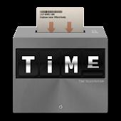 TIME  • Time sheet