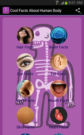 【免費醫療App】有关人体的事实-APP點子