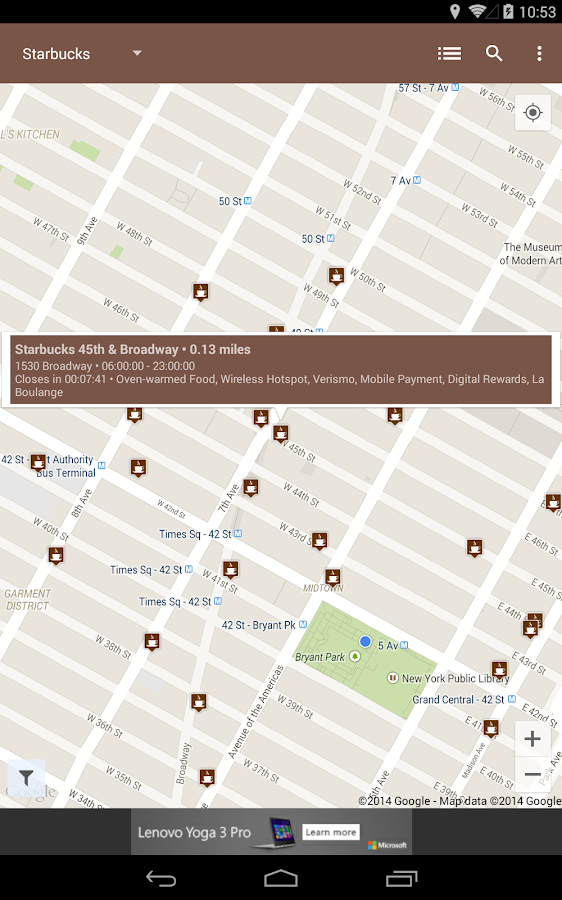 Coffee Finder - screenshot