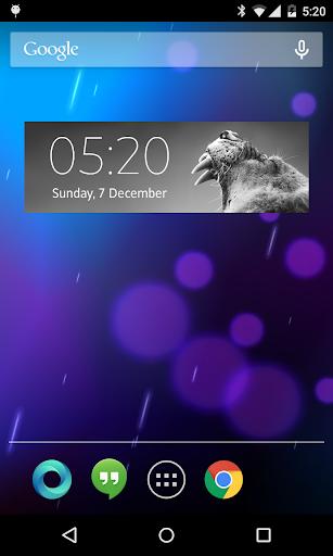 無料个人化Appの時計ウィジェット|HotApp4Game