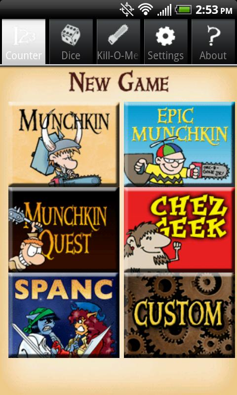 Munchkin Level Counter- screenshot