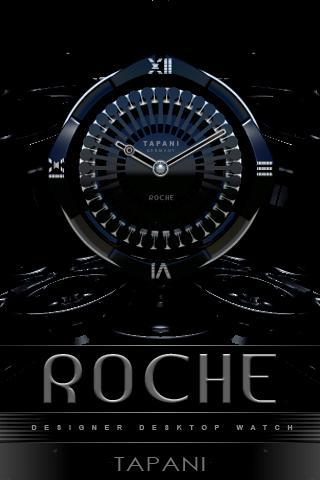 ROCHE Designer Clock Widget