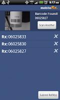 Screenshot of mobileRx Pharmacy