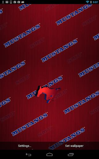 SMU Mustangs Live Wallpaper