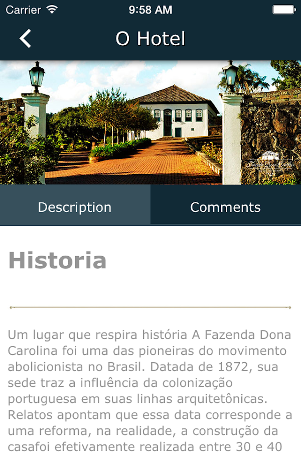 Hotel Dona Carolina- screenshot