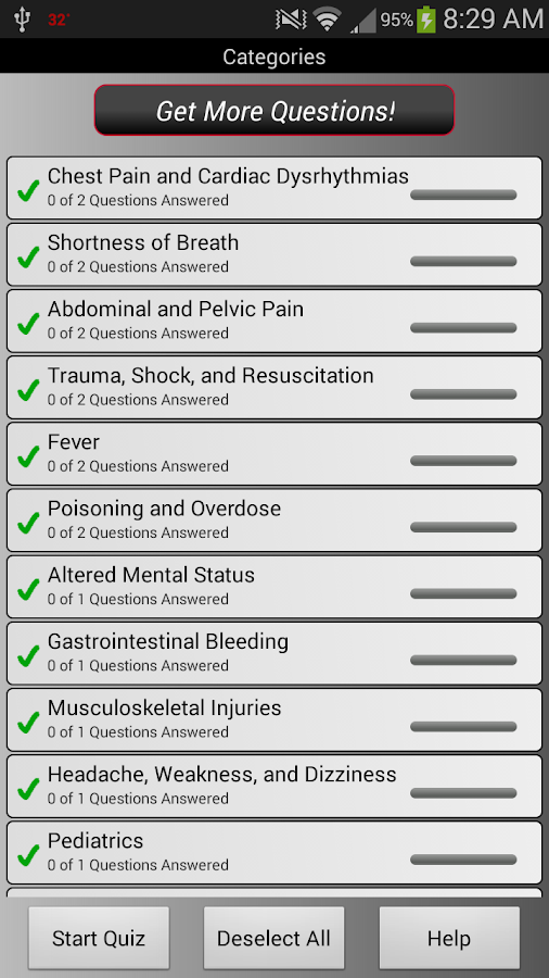 PreTest Emergency Medicine - screenshot