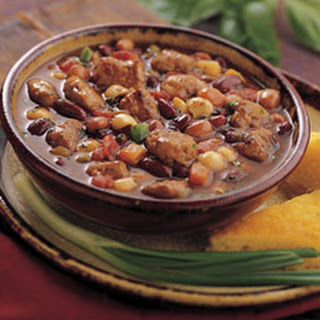 Sausage And Red Bean Stew.
