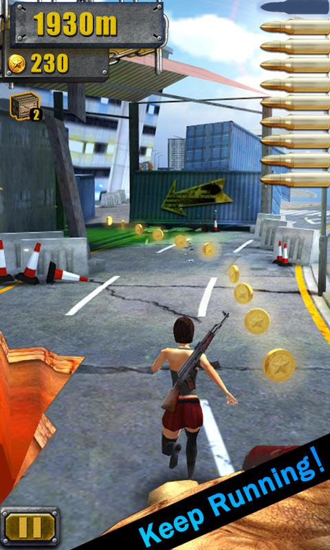 3D City Run Hot- screenshot