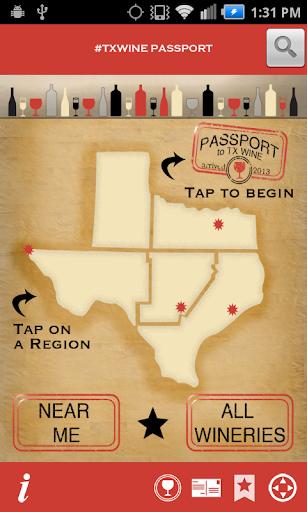 TX Wine Passport