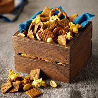 Shreddies Honey Mustard Munch Mix.