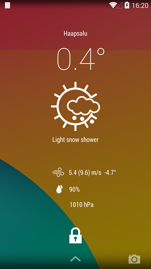 EMHI Weather - screenshot
