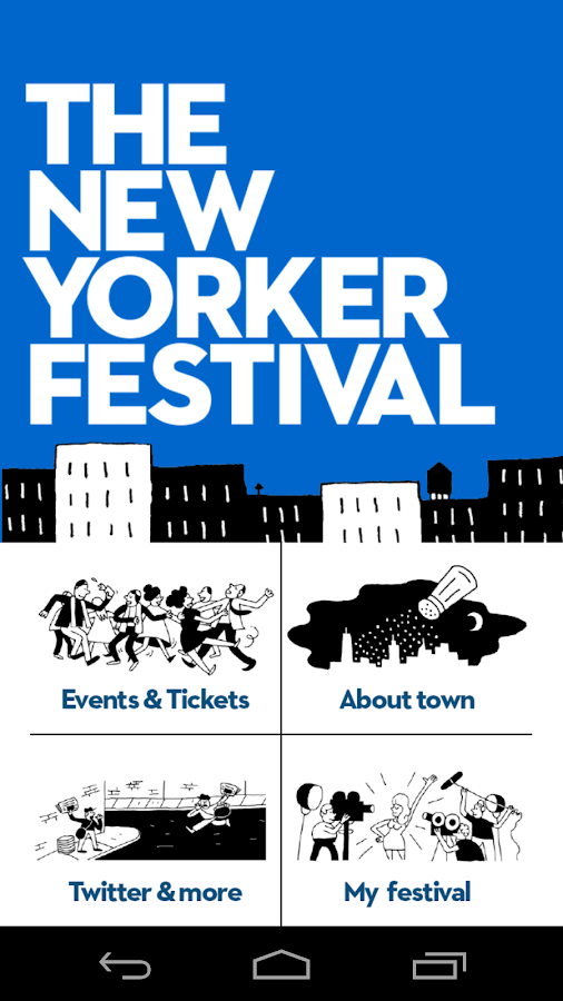The New Yorker Festival 2014- screenshot