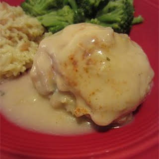 Gina's Crab Stuffed Chicken Breast.