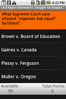 Screenshot of Civil Rights Movement: Shmoop