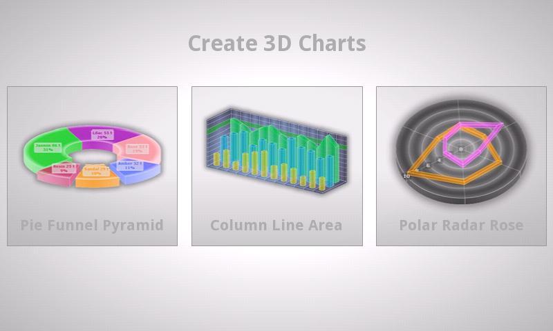 3D Charts Pro- screenshot