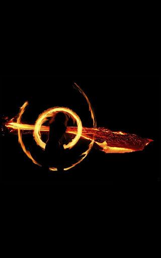Fire Dancer Live Wallpaper