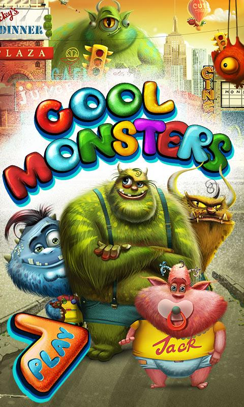 Cool Monsters Dress Up- screenshot