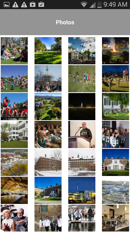 Dartmouth College - screenshot