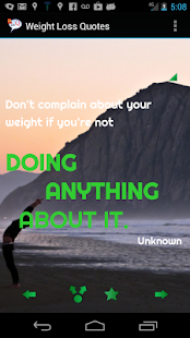 Weight Loss Quotes- screenshot thumbnail