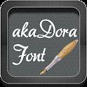 akaDora Font icon