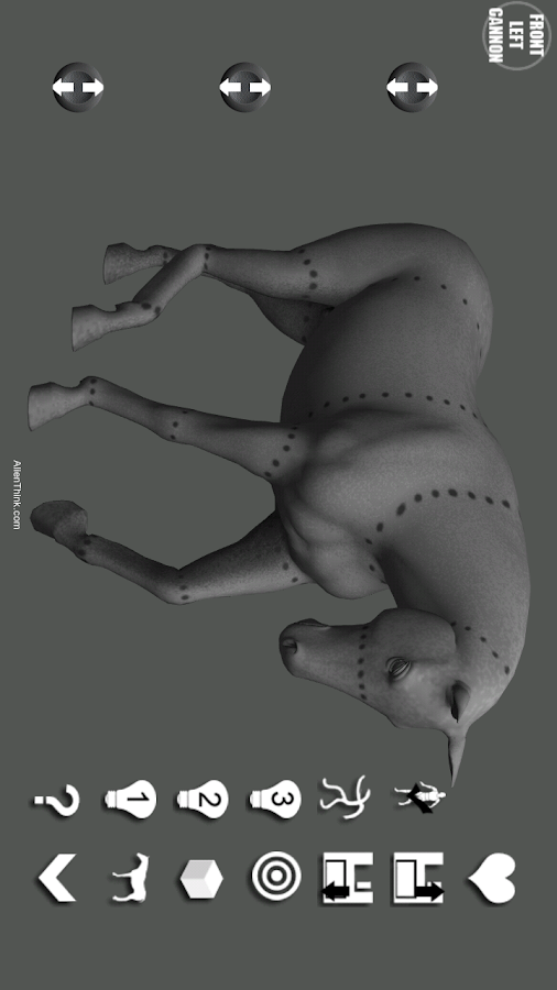 Horse Pose Tool 3D- screenshot