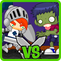 Zombie vs Titan Running World icon