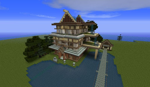 Minecraft Buildings Wallpapers
