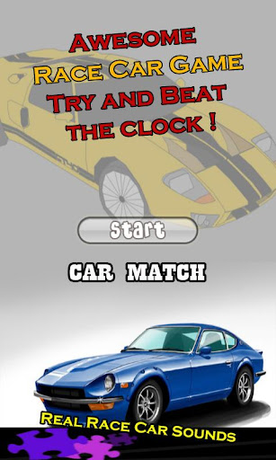 Car Match Games for Toddlers
