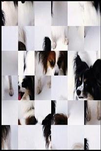 可愛的小狗A5的拼圖