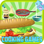 sandwich maker - cooking game