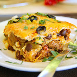 30-Minute Simple Mexican Lasagna.