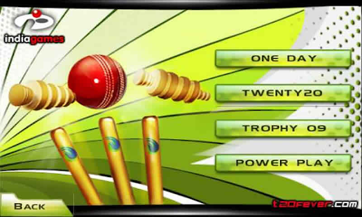 Cricket T20 Fever 3D- screenshot thumbnail