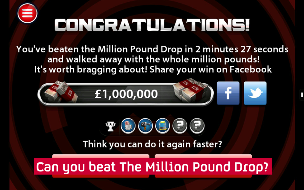 The Million Pound Drop- screenshot