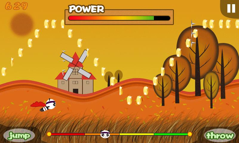 Panda Runner!- screenshot